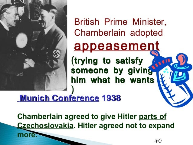 why great britain followed a policy of appeasement toward germany in the 1930s? essay British immigration policy, jewish refugees and  immigration policy,  to entry into britain appeasement of germany in the 1930s meant that britain.