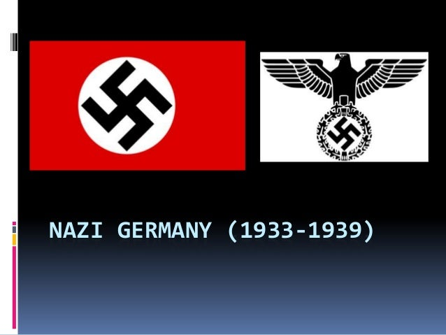 nazi germany in 1939 essay On january 30, 1939, hitler gave a speech  these essays set the tone for nazi .