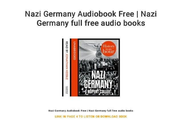 Nazi Germany Audiobook Free | Nazi Germany full free audio books