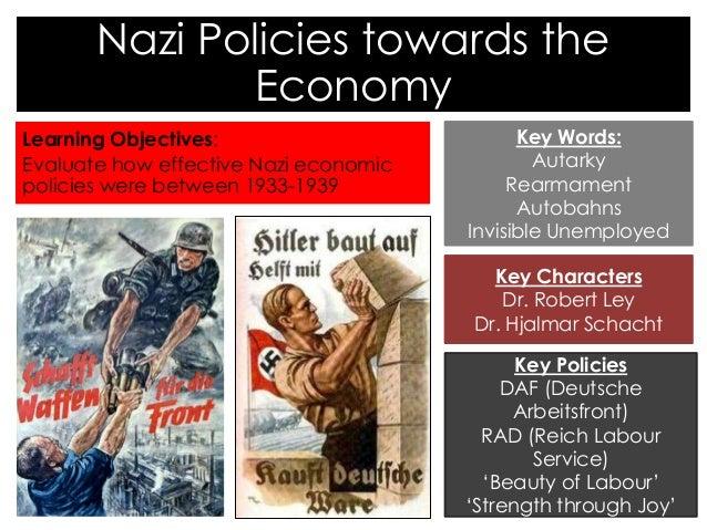 Hitlers economic policies essay