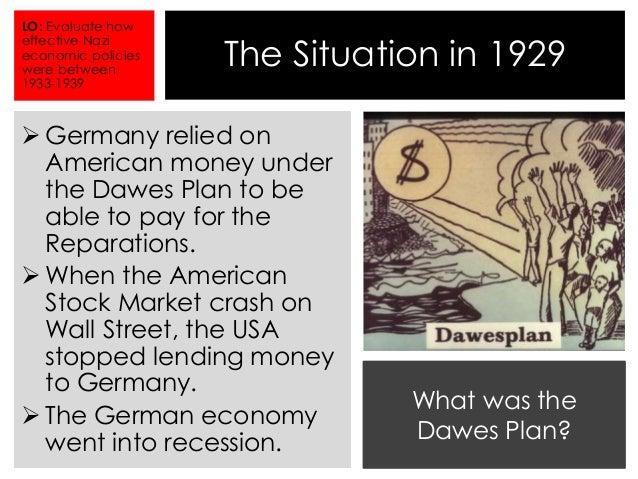 Nazi Policies Towards The Economy