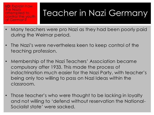 'nazi attempts to control germany's youth Despite the heroic rescue attempts of german the fatal hike that became a nazi propaganda of the hitler youth as it made its way through germany and.