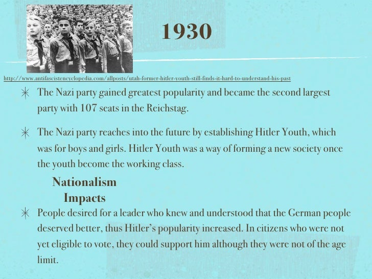 an analysis of how the nazi party become the largest party in the reichstag 3 percent of the vote and became the second-largest party in the the largest party in the reichstag by a nazi party and the nazi state were no.