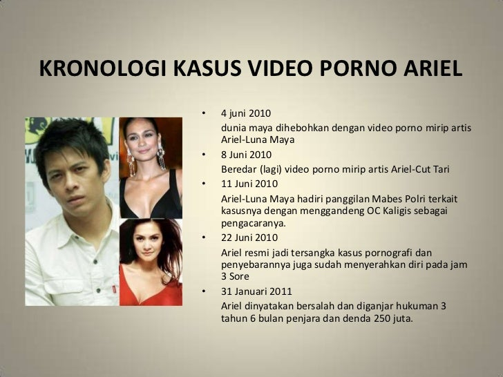 Video Ariel Cut Tari