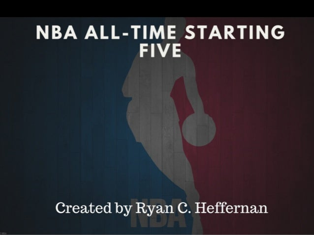 NBA ALL-TIME STARTING FIVE  Created by Ryan C.  Heffernan