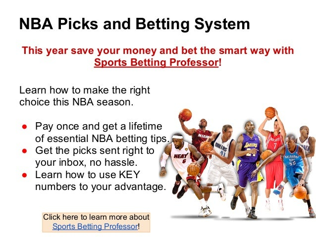 sports betting professor nba system betting