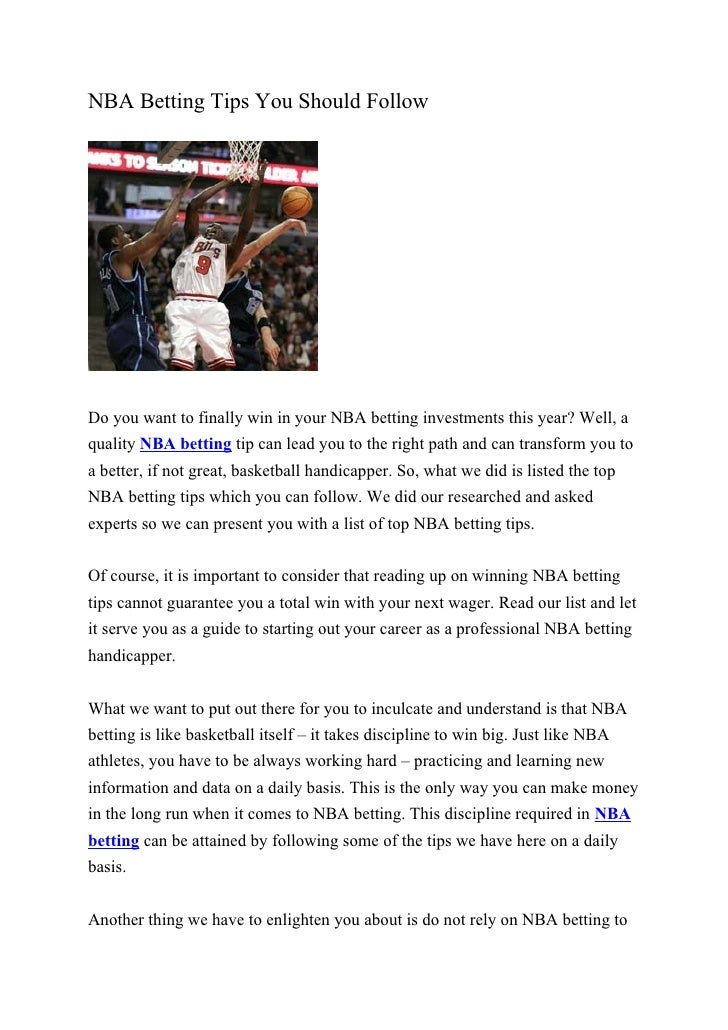 Professional nba betting tips betting election us