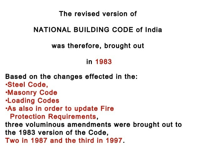 national building code of india pdf free download