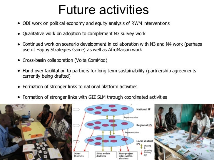 Challenges so far...• Facilitation of IPs is time and resource consuming• Good facilitation is essential• Facilitation occ...