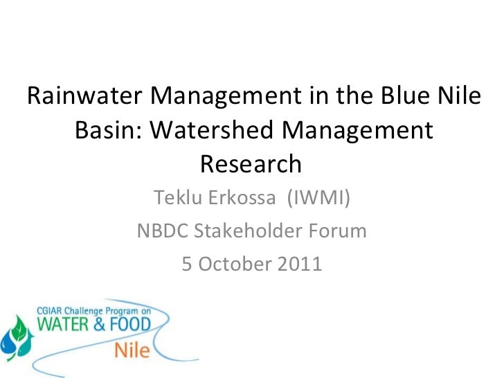thesis on watershed management in india 2 management approach is considered as the ideal for achieving food security and sustainability history of watershed development in india the development of ideas on sustainable livelihoods was witnessed during 1990s.