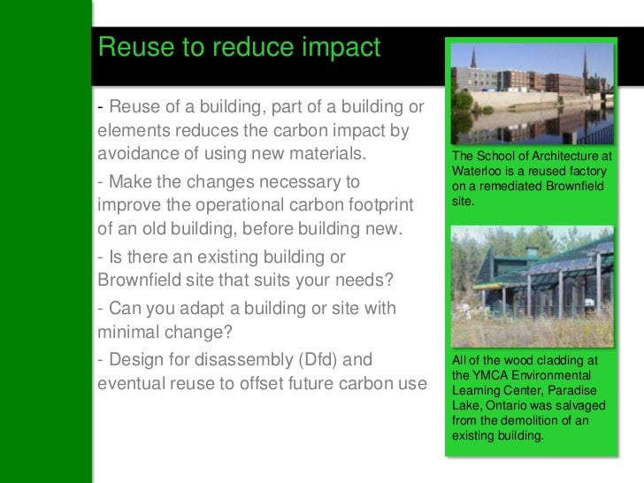 Leopold Approach to Carbon Neutral Design Design a Net Zero (Operating Energy) Building Apply Carbon Balance to Building...