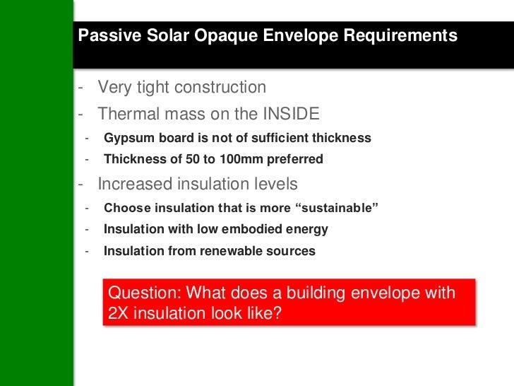Green building envelopes 101 from nbec - Interior vs exterior solar screens ...