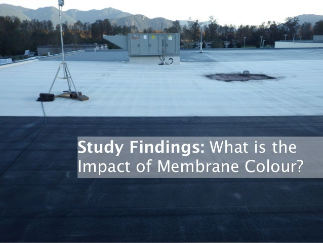 Nbec 2014 Conventional Roofs Measuring Impacts Of