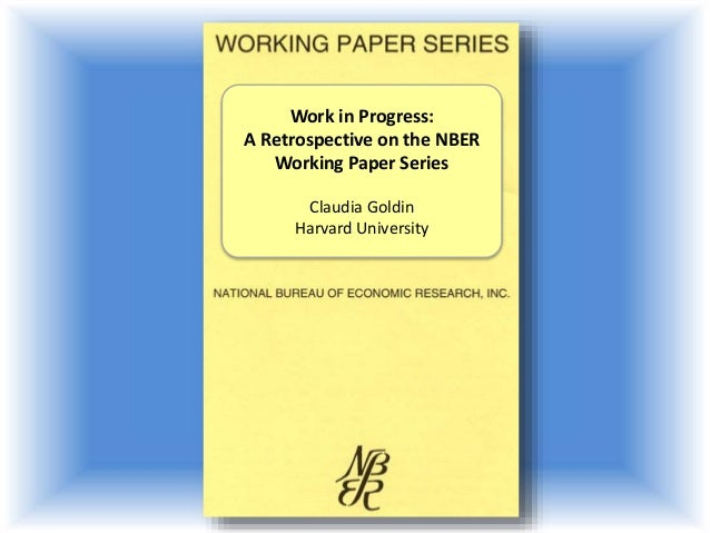 nber papers
