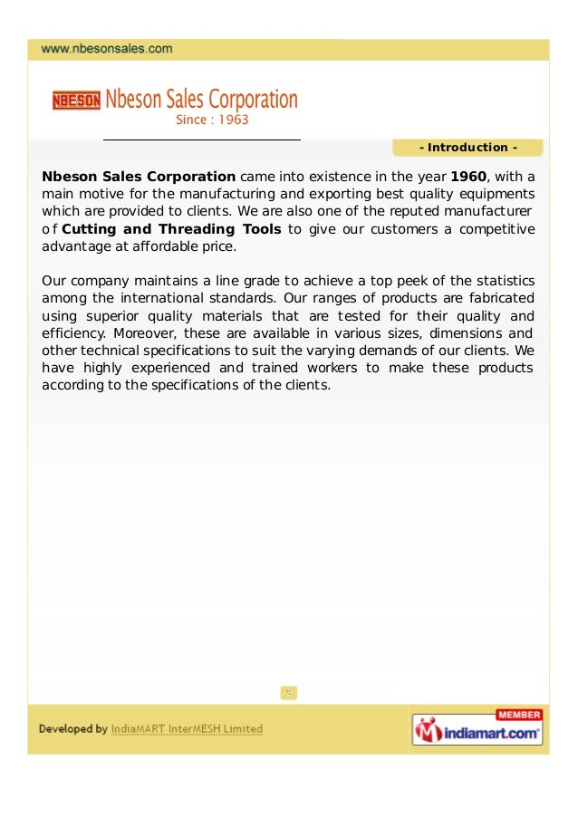 Nbeson Sales Corporation, Ludhiana ,  Aallied accessories Slide 2