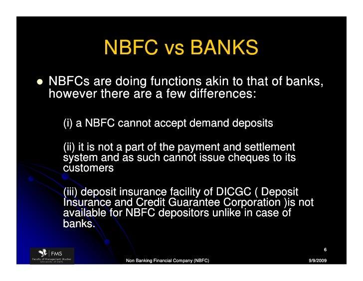 NBFC & MFI in India