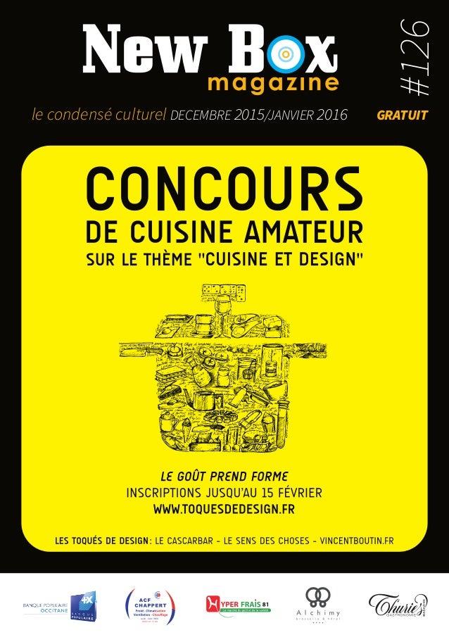 ALBI - CASTRES 05 63 47 11 88 le condensé culturel decembre 2015/janvier 2016 gratuit #126