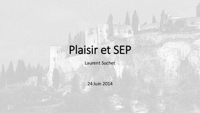 Plaisir et SEP Laurent Suchet 24 Juin 2014