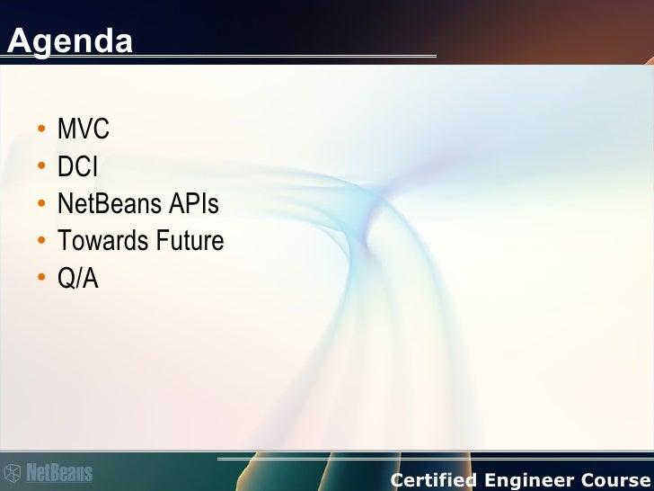 MVC/DCI in NetBeans by  Jaroslav Tulach Slide 2