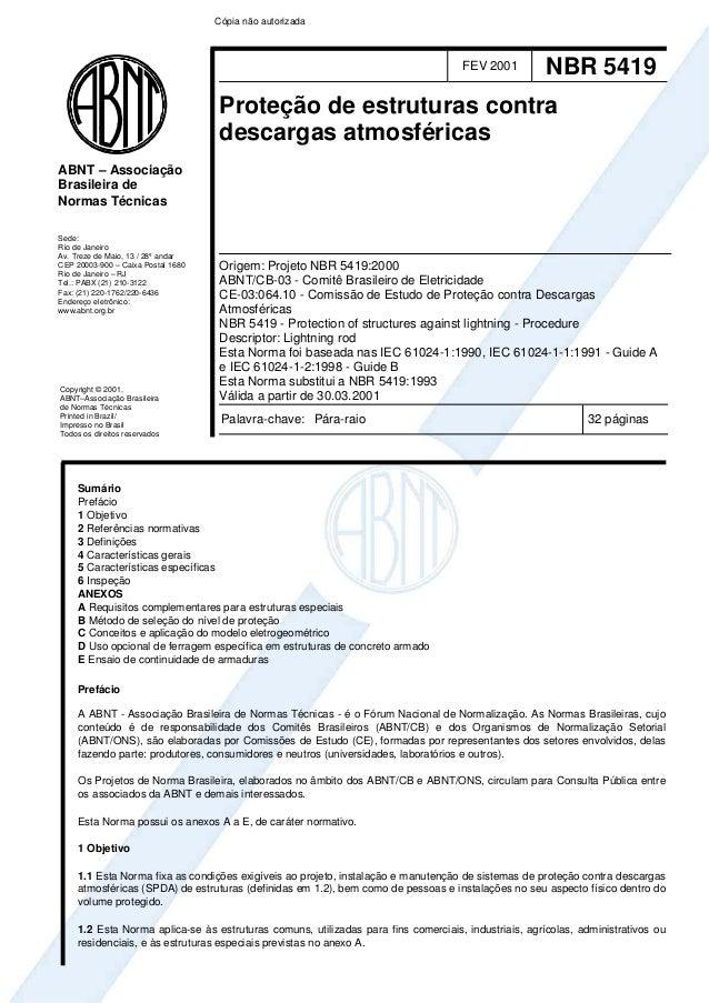 Cópia não autorizada                                                                                    FEV 2001          ...