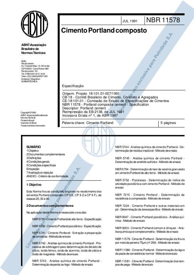 Copyright©1990, ABNT–AssociaçãoBrasileirade NormasTécnicas PrintedinBrazil/ ImpressonoBrasil Todososdireitosreservados Sed...