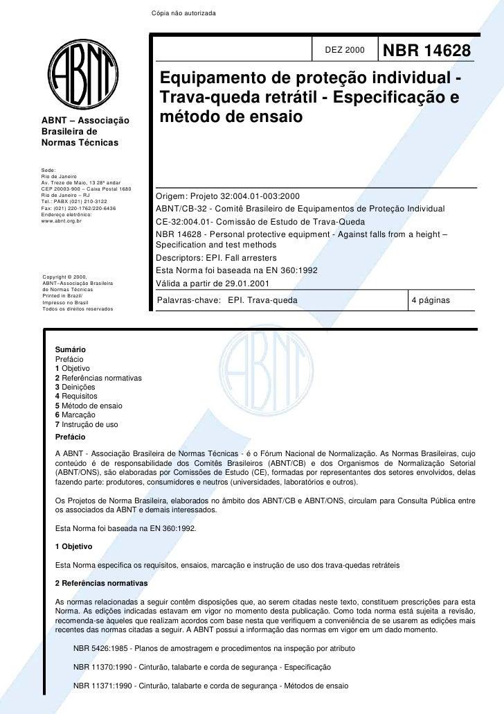 Cópia não autorizada                                                                                   DEZ 2000         NB...