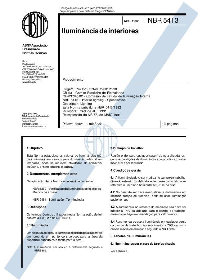 Copyright©1992, ABNT–AssociaçãoBrasileirade NormasTécnicas PrintedinBrazil/ ImpressonoBrasil Todososdireitosreservados ABN...