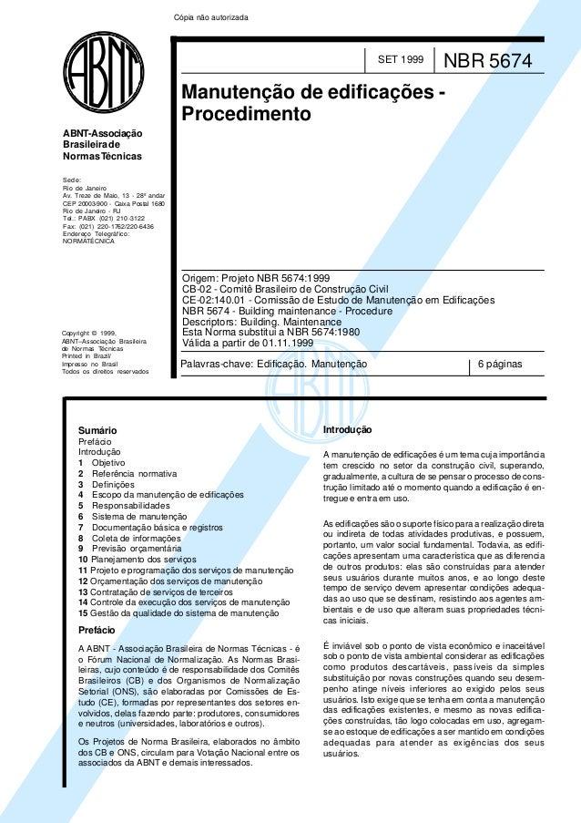Nbr 10067 em pdf writer