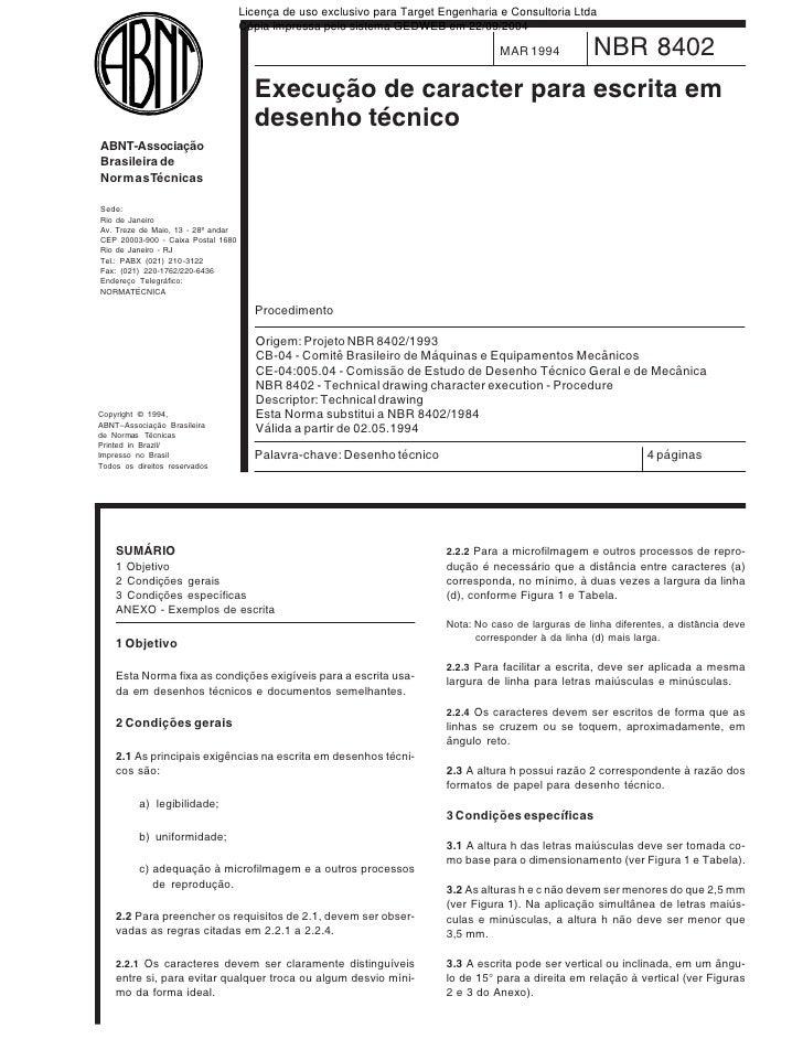 Licença de uso exclusivo para Target Engenharia e Consultoria Ltda                                    Cópia impressa pelo ...