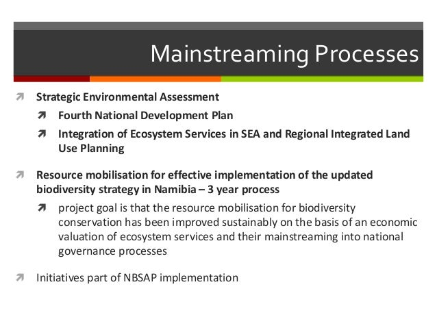 National Biodiversity Strategies & Action Plans 2.0 ...