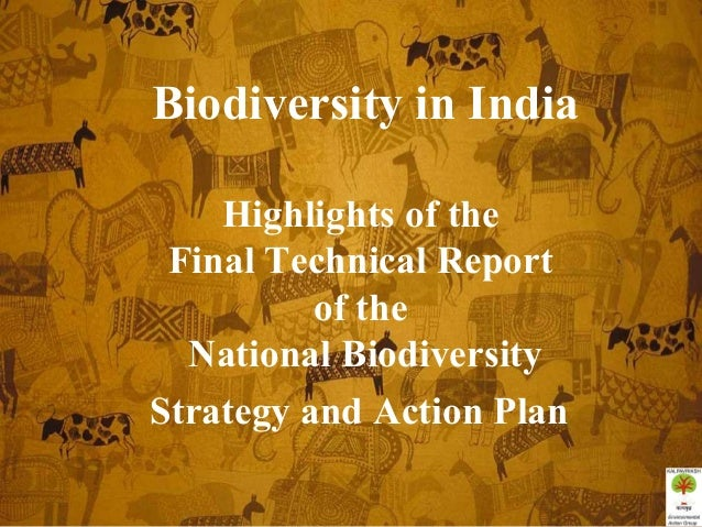 Biodiversity in IndiaHighlights of theFinal Technical Reportof theNational BiodiversityStrategy and Action Plan
