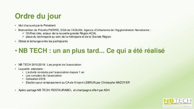 Commission Services Didier MILLOT 1) Analyse des besoins des « usagers « du technopole: enquête ARTEM Insight 2) Dépôt de ...