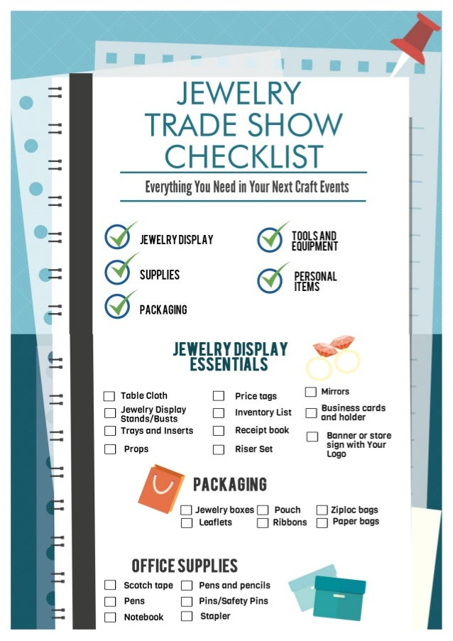 Make Your Jewelry Trade Show A Success With This Handy