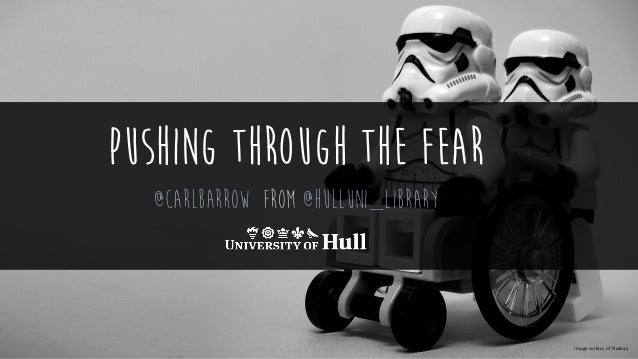 pushing through the Fear @Carlbarrow from @hulluni_library Image curtacy of Pixabay