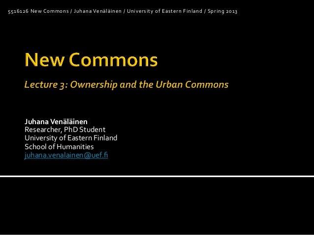 Juhana&Venäläinen& Researcher,)PhD)Student) University)of)Eastern)Finland) School)of)Humanities) juhana.venalainen@uef.fi) ...