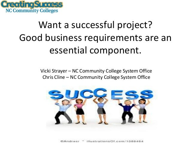 Hope Opportunity Jobs Want a successful project? Good business requirements are an essential component. Vicki Strayer – NC...