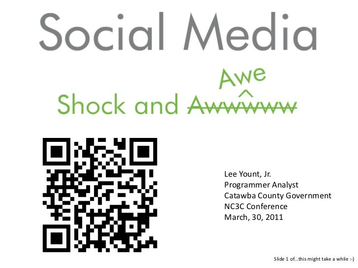 Lee Yount, Jr.<br />Programmer Analyst<br />Catawba County Government<br />NC3C Conference<br />March, 30, 2011<br />Slide...