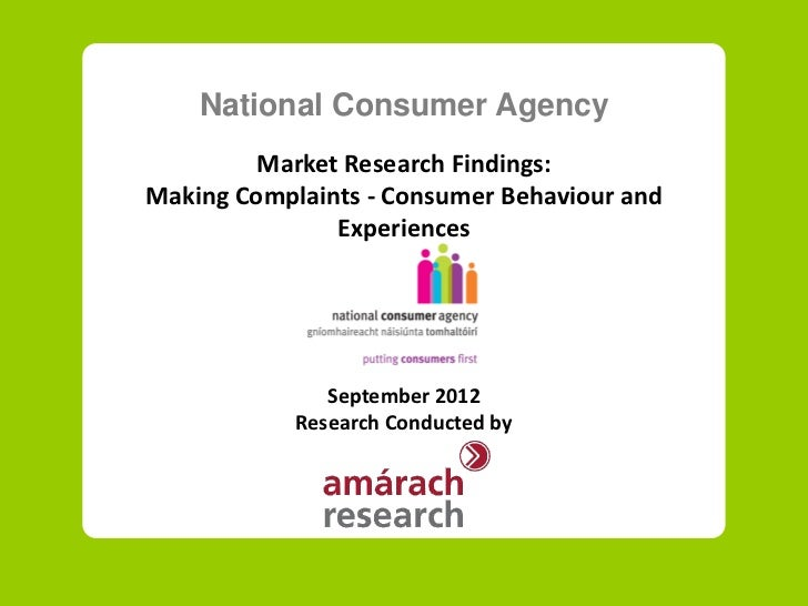 Market Research and the Study of Consumer Behavior