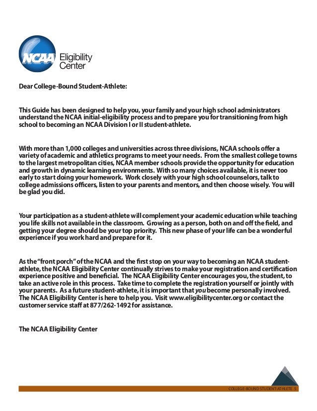 Ncaa 2012 13 guide for the collegebound studentathlete – Ncaa Eligibility Worksheet
