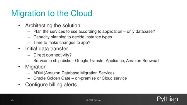 Welcome to databases in the Cloud