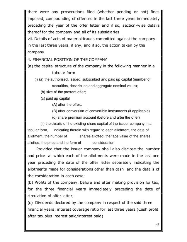 Nca rules chapter3