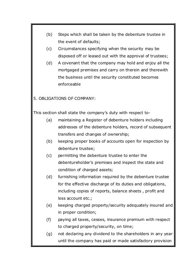 debenture opinion Convertible debenture holders left out in  it's understood that discovery air debenture holders approached the trustee with a legal opinion arguing that their.
