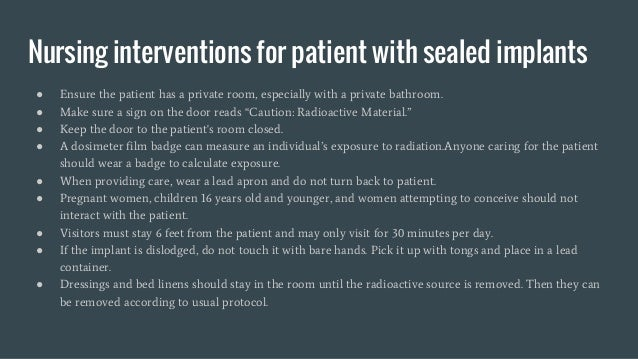 """● Ensure the patient has a private room, especially with a private bathroom. ● Make sure a sign on the door reads """"Caution..."""