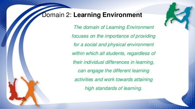 how the environment plays a role in learning essay Play and the learning 10 environment activity plays an important role in students' social and language chapter 10 • play and the learning environment 259.