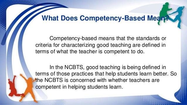 perception of teachers on the use of ncbts tsna