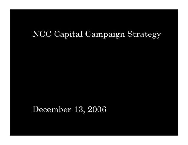 NCC: Community Capital