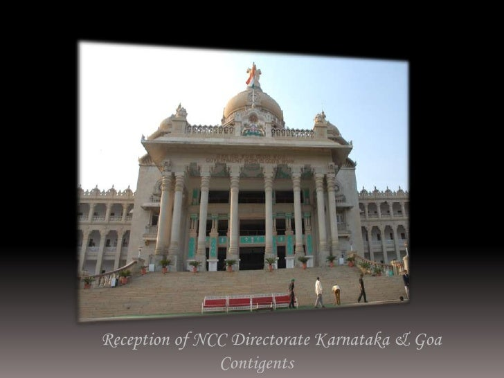 On Return from Delhi at Bangalore<br />       Reception of NCC Directorate Karnataka & Goa Contigents<br />