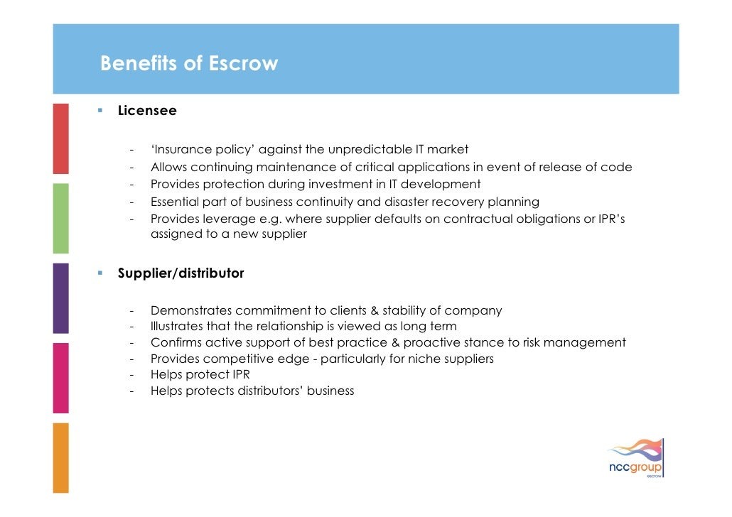 Ncc Group Escrow Overview 2010