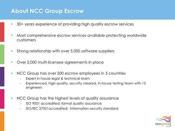 NCC Group Presentation