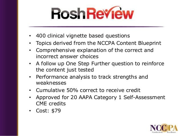 Update From NCCPA - Focus on PI-CME